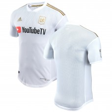 Men's LAFC adidas White 2018 Secondary Authentic Jersey