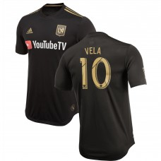 Men's LAFC Carlos Vela adidas Black 2018 Primary Authentic Player Jersey