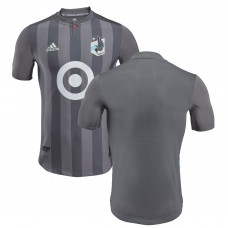 Men's Minnesota United FC adidas Gray 2018 Primary Authentic Jersey