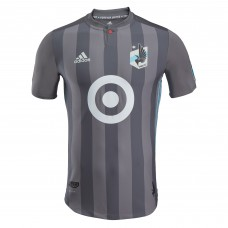 Men's Minnesota United FC adidas Gray 2018 Primary Authentic Custom Jersey