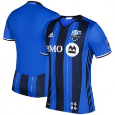 Men's Montreal Impact adidas Blue/Black 2016 Authentic Primary Jersey