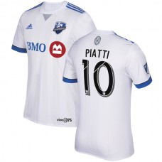 Ignacio Piatti Montreal Impact adidas 2018 Secondary Authentic Jersey - White