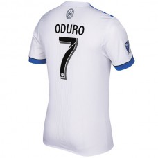 Dominic Oduro Montreal Impact adidas 2018 Secondary Authentic Jersey - White