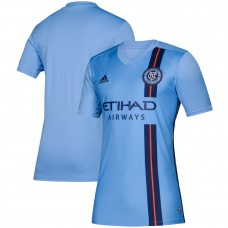 Men's New York City FC adidas Blue 2019 Primary Jersey