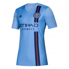 Men's New York City FC adidas Blue 2019 Primary Custom Jersey