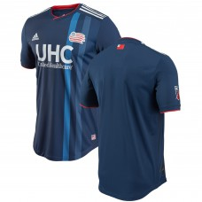 Men's New England Revolution adidas Navy 2018 Primary Authentic Jersey