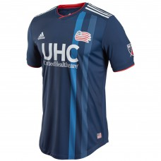 Men's New England Revolution adidas Navy 2018 Primary Authentic Custom Jersey