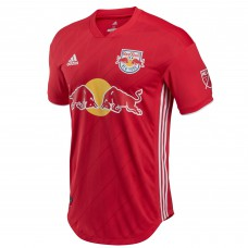 Men's New York Red Bulls adidas Red 2018 Secondary Authentic Custom Jersey
