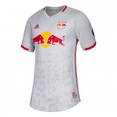 Men's New York Red Bulls adidas Gray 2019 Primary Authentic Jersey
