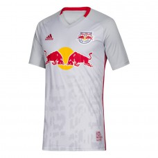 Men's New York Red Bulls adidas Gray 2019 Primary Custom Jersey