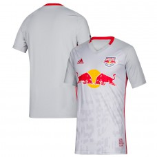 Men's New York Red Bulls adidas Gray 2019 Primary Jersey