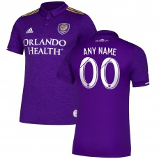 Men's Orlando City SC adidas Purple 2018 Primary Authentic Custom Jersey