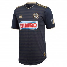 Men's Philadelphia Union adidas Navy 2018 Primary Authentic Custom Jersey