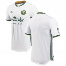 Men's Portland Timbers adidas White 2018 Secondary Authentic Jersey