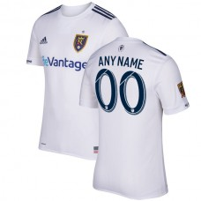 Real Salt Lake adidas 2017 Secondary Authentic Custom Jersey - White