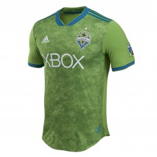 Men's Seattle Sounders FC adidas Green 2018 Primary Authentic Custom Jersey
