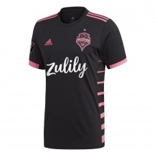 Men's Seattle Sounders FC adidas Black 2019 Nightfall Custom Jersey