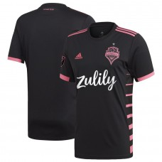 Men's Seattle Sounders FC adidas Black 2019 Nightfall Jersey