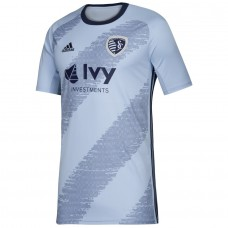 Men's Sporting Kansas City adidas Blue 2019 Primary Jersey