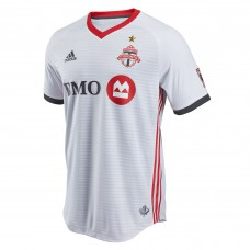 Men's Toronto FC adidas White 2018 Secondary Authentic Custom Jersey