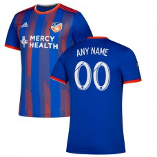 Men's FC Cincinnati adidas Blue 2019 Primary Custom Jersey