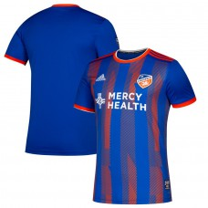Men's FC Cincinnati adidas Blue 2019 Primary Jersey