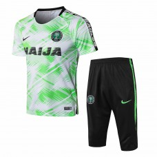 Nigeria Green Short Training Technical Soccer Tracksuit 2018/19