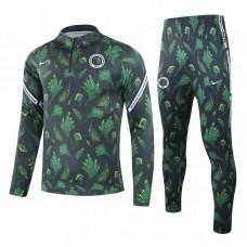 Nigeria Training Technical Football Tracksuit Deep Green 2021