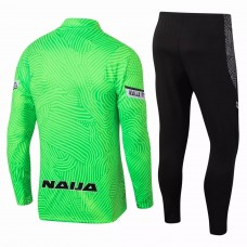 Nigeria Training Technical Football Tracksuit Green 2021