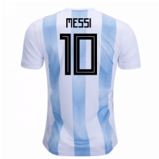 Argentina Authentic 2018 Home Jersey (Messi 10)