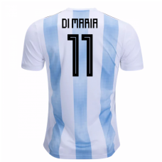 Argentina Authentic 2018 Home Jersey (Di Maria 11)