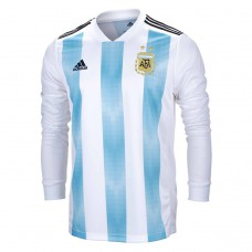 Argentina 2018 Home Long Sleeve Jersey