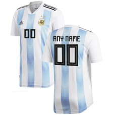 Argentina National Team adidas 2018 Home Custom Jersey