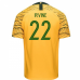 Australia National Team Nike 2018 Home Jersey (Irvine 22)