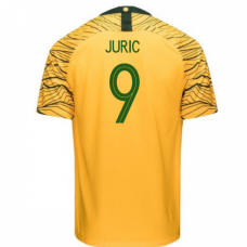 Australia National Team Nike 2018 Home Jersey (Juric 9)