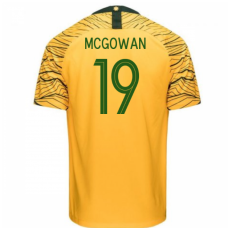 Australia National Team Nike 2018 Home Jersey (McGowan 19)