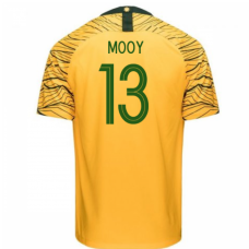Australia National Team Nike 2018 Home Jersey (Mooy 13)
