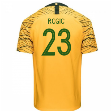 Australia National Team Nike 2018 Home Jersey (Rogic 23)