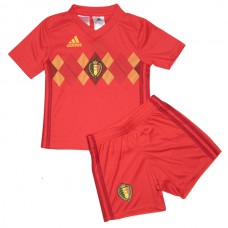Belguim National Team Adidas 2018 Home Kit - Kids