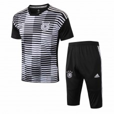 Germany Stripe Presentation Training Soccer Short Tracksuit 2018/19