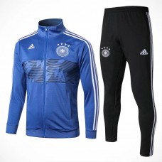 Germany Blue Tech Training Soccer Tracksuit 2018/19