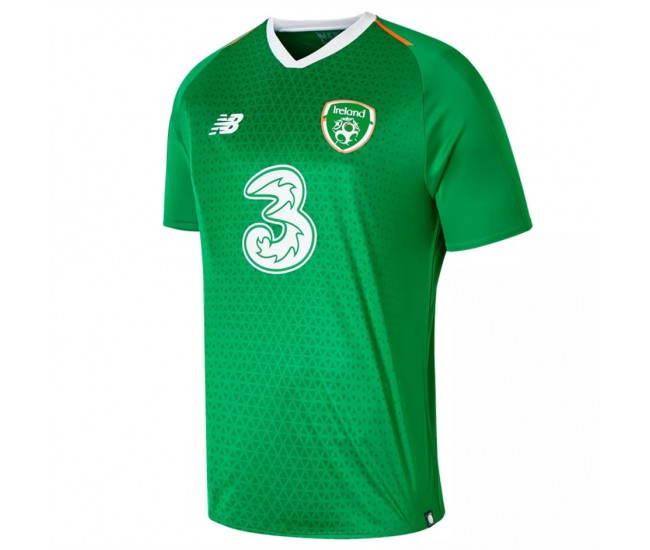 2018-2019 Ireland New Balance Home Jersey