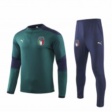 Italy Green Technical Training Soccer Tracksuit 2019/20 - Puma