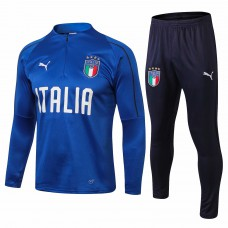 Italy Blue Technical Training Soccer Tracksuit 2018/19 - Puma