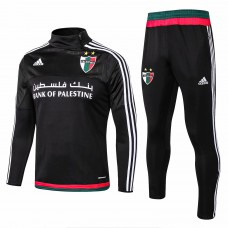 Palestine Black Training Technical Soccer Tracksuit 2015/16