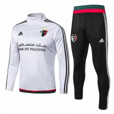 Palestine White Training Technical Soccer Tracksuit 2015/16