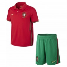 Portugal Home Football Kit Kids 2020