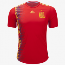 Spain 2018 Authentic Home Jersey