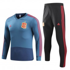 Spain Training Presentation Soccer Tracksuit 2018/19 - Kids