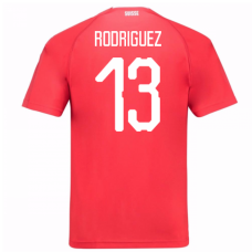 Switzerland 2018 Home Jersey (Rodriguez 13)